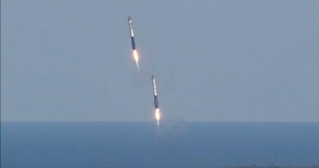 rientro missili space x